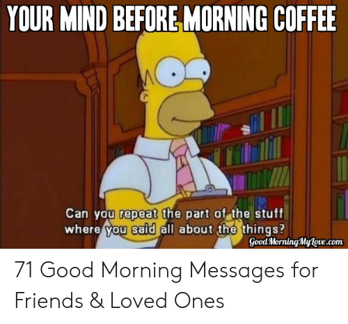 🔥 25 Best Memes About Funny Good Morning Memes for Him