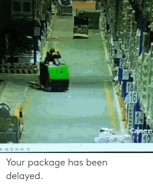 package: Your package has been delayed.