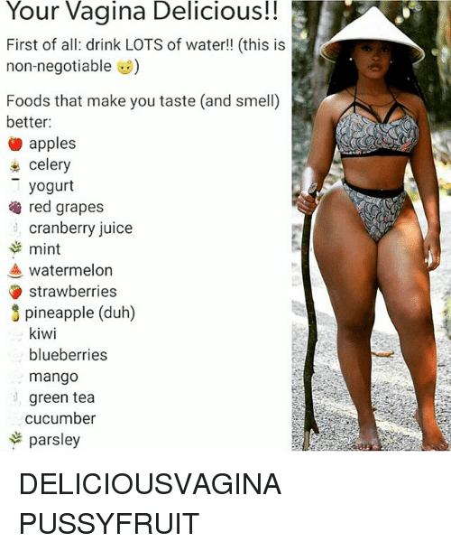 Foods that make your vagina smell and taste good-2566