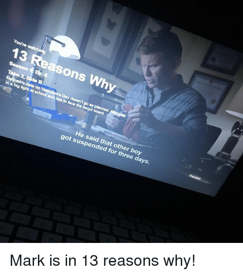 13 reasons why dating