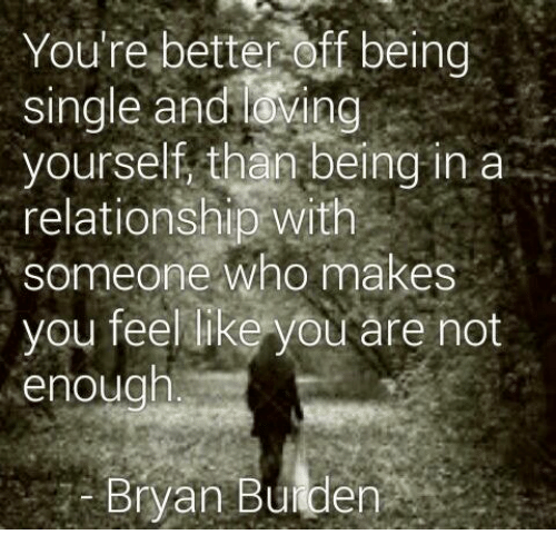 in relationship but feel single