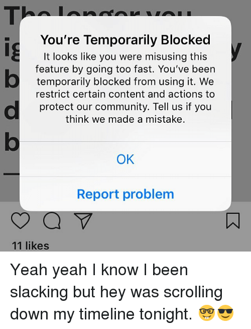 Youre Temporarily Blocked It Looks Like You Were Misusing