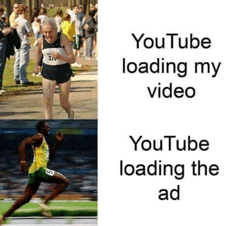 loading: YouTube  37  loading my  video  YouTube  loading the  ad