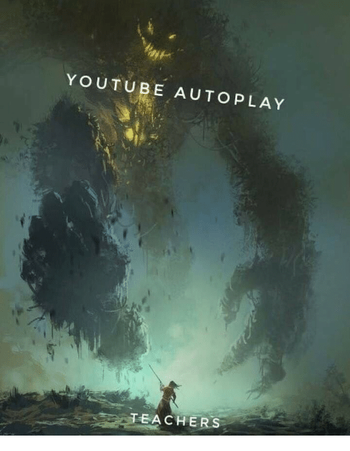 youtube.com, T A, and Autoplay: YOUTUBE AUTOPLAY  T  A C H E R S