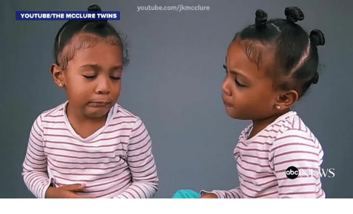 youtubeithe mcclure twins youtube com jkmcclure abc ws 5778323 youtubeithe mcclure twins youtubecomjkmcclure abc ws abc meme on,Mcclure Twins Meme