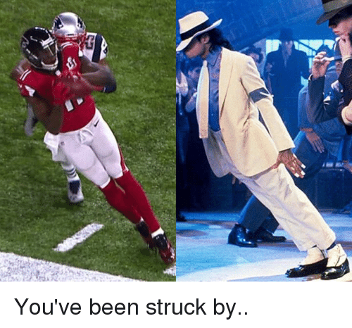 NFL: You've been struck by..