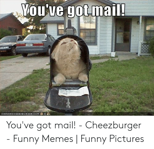 You Ve Got Mail Meme: You've got mail!  ICANHASCHEEZEURGEROOM You've got mail! - Cheezburger - Funny Memes | Funny Pictures