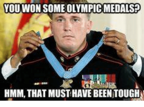 youwwon someolympic medals hmmm that must have been tough 2892636 youwwon someolympic medals? hmmm that must have been tough