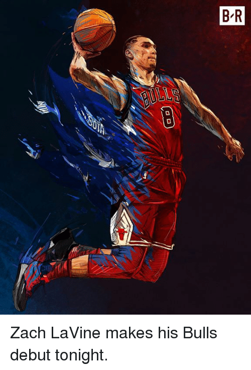 Zach LaVine, Bulls, and Debut: Zach LaVine makes his Bulls debut tonight.