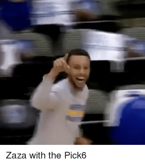 Basketball, Golden State Warriors, and Sports: Zaza with the Pick6