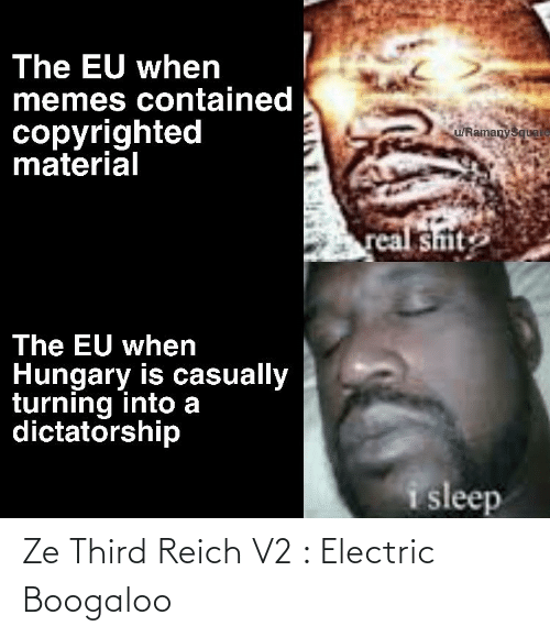 electric boogaloo: Ze Third Reich V2 : Electric Boogaloo