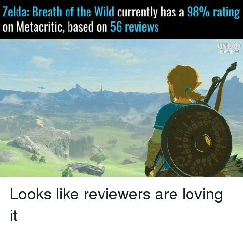 Funny Zelda Breath of the Wild Memes of 2017 on SIZZLE