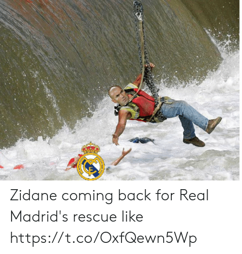 zidane: Zidane coming back for Real Madrid's rescue like https://t.co/OxfQewn5Wp