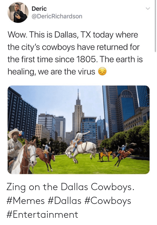 Dallas: Zing on the Dallas Cowboys. #Memes #Dallas #Cowboys #Entertainment