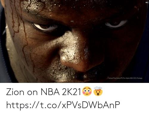 🤖: Zion on NBA 2K21😳🤯 https://t.co/xPVsDWbAnP