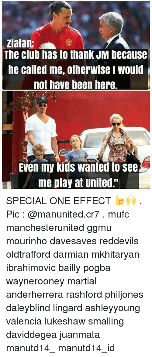 """special one: Zlatan:  The club has to thank JM because  he called me, otherwise I Would  not have been here.  NIO  Even my kids wanted to see  me play at United."""" SPECIAL ONE EFFECT 👍🙌 . Pic : @manunited.cr7 . mufc manchesterunited ggmu mourinho davesaves reddevils oldtrafford darmian mkhitaryan ibrahimovic bailly pogba waynerooney martial anderherrera rashford philjones daleyblind lingard ashleyyoung valencia lukeshaw smalling daviddegea juanmata manutd14_ manutd14_id"""